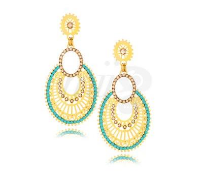 Pendientes Glam Turquesa de la firma Leetal Kalmanson Jewels