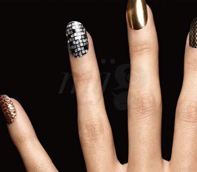 Uñas Riche Oro Nail Art de L'Oréal