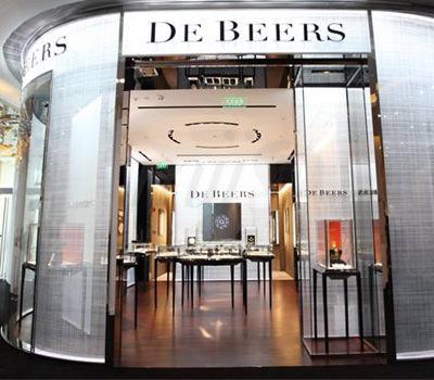Nueva Boutique Joyas De Beers en Shanghai China
