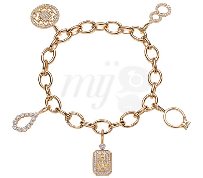 Charms oro amarillo y diamantes de Harry Winston Joyas