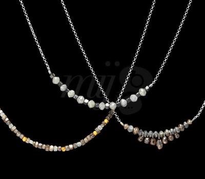 Collares en diamante Bruto de Joyas Perle de Lune 2012