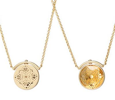 Collares Swivel con piedra en facetas de Joyas Perle de Lune