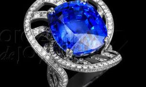 El Diamante Azul, una Piedra Preciosa Azul