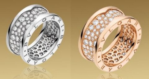 Anillo Bulgari B Zero1 en diamantes