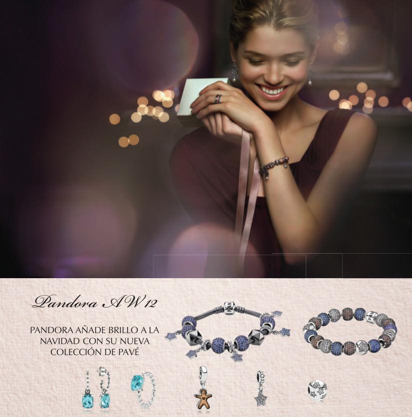 Campaña de Navidad 2012 Joyas Pandora