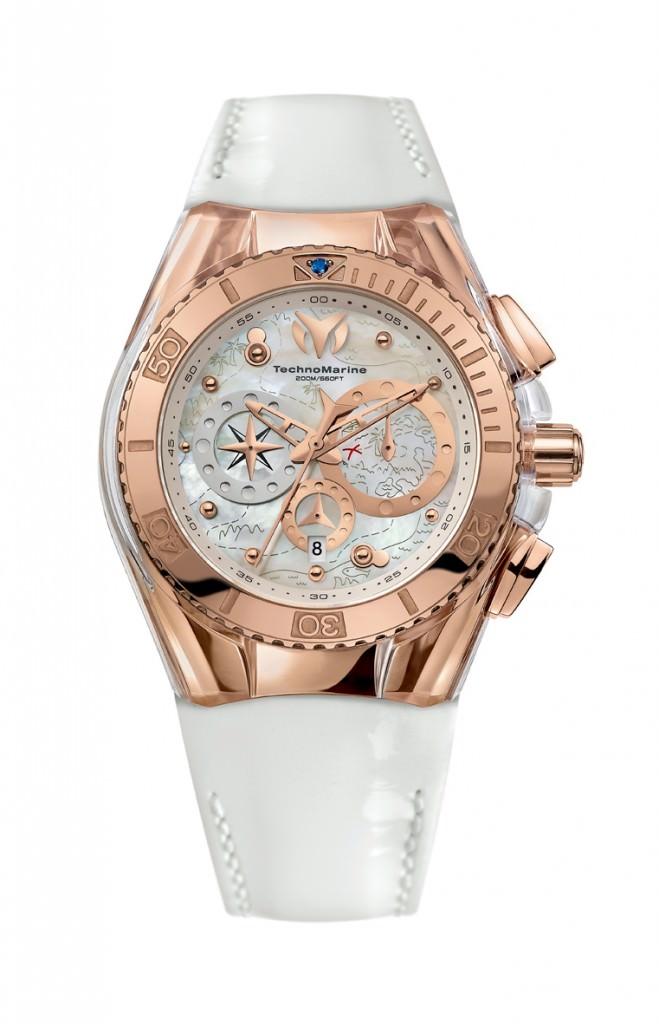 Reloj Cruise Dream Technomarine Oro Rosa y acero