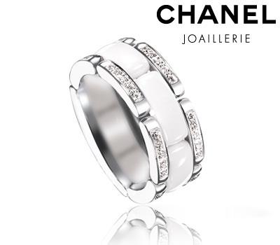 venta minorista 0bedb 412f0 anillo-chanel-ceramica-blanca - Corazón de Joyas