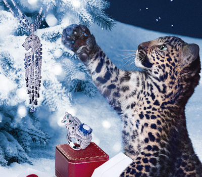 Cartier Video Campaña Navidades Winter Tale