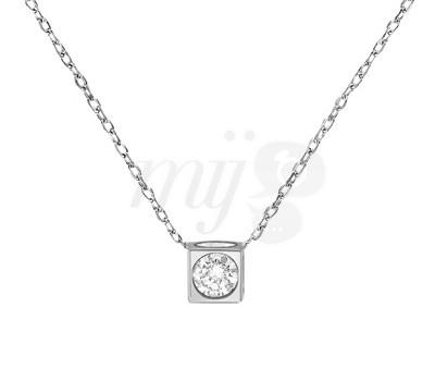 Collar Le Cube Diamant Dinh Van Alta Joyería