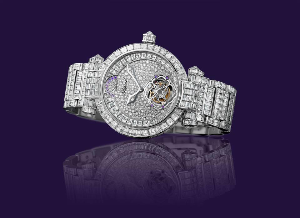 Reloj Imperiale Tourbillon Full Set de Chopard