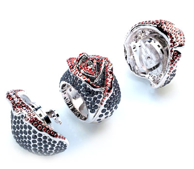 Rose Mysterieuse anillo joya de alta joyería Aymes