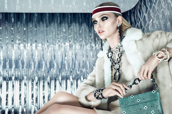 Colecciones Prada Joyas 2012 con Sasha Pivovarova