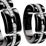 Sortija Ultra en Cerámica Negra y Diamantes de Joyas Chanel 2012