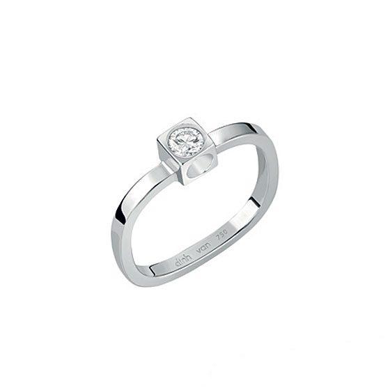 Sortija Le Cube Diamant Dinh Van Alta Joyería