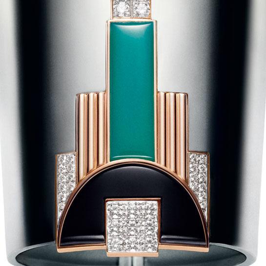 Brazalete Manchette Modern Art Deco de Raph Lauren Jewels