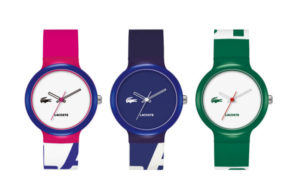El invierno colorido de los icónicos Goa de Lacoste Watches