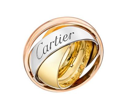 Anillo Cartier Trinity 3 Oros