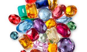 ¿Cuales son los colores de las piedras preciosas?