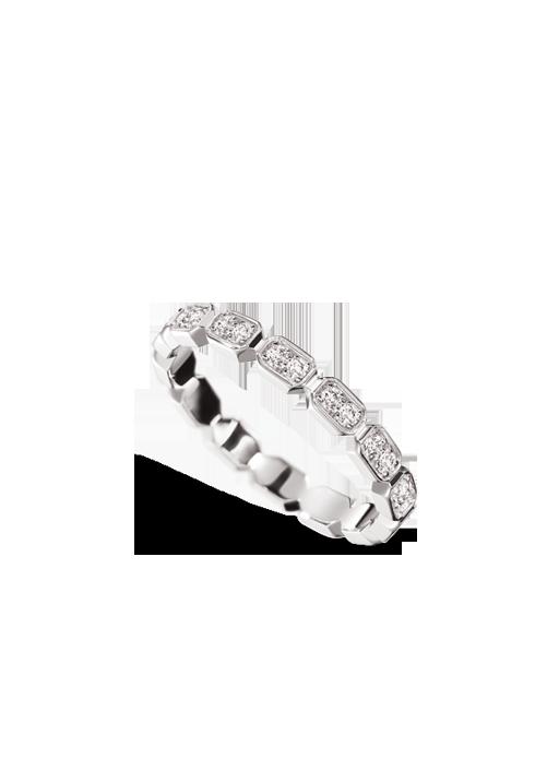Alianza Barroca en oro blanco y diamantes de Chanel Joyería