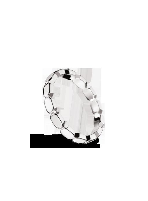 883629ce3e4c Alianza Barroca en oro blanco de Chanel Joyería - Corazón de Joyas