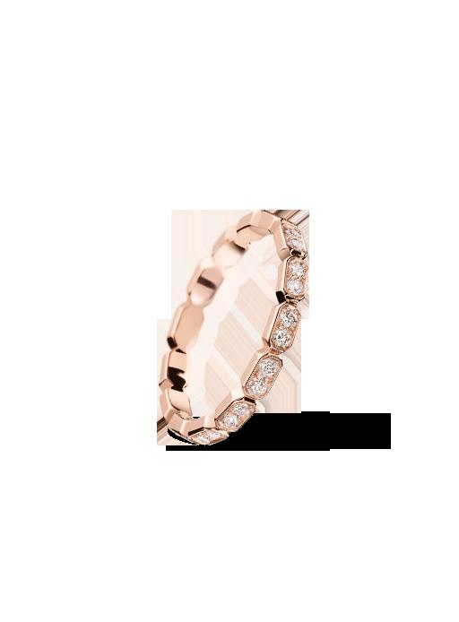 Alianza Barroca en oro rosa y diamantes de Chanel Joyería