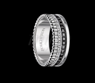 Alianza Diamantes Quatre Black Edition de Joyas Boucheron