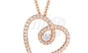 El Colgante Heart en diamantes de De Beers