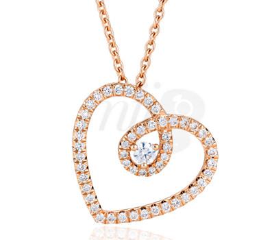 Colgante Diamantes Heart de De Beers para San Valentin 2013