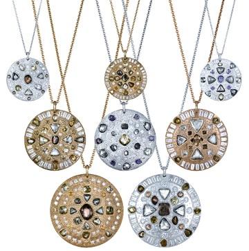 Collares Talismans Virtues de Joyería De Beers Colección Capsule Enero 2013