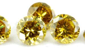 El diamante amarillo, una piedra preciosa amarilla