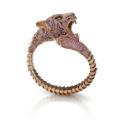 Otro brazalete impresionante de Roberto Coin, el Tigre