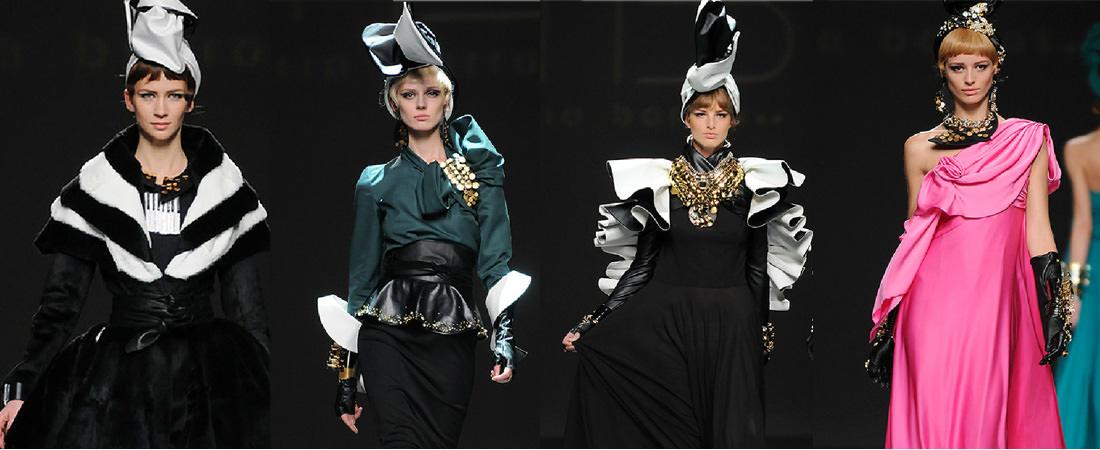 Desfile Maria Barros con joyas Daniel Espinosa Jewelry MB Madrid Fashion Show 2013