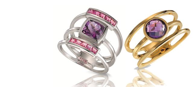 Sortijas 3 anillos H.Gringoire Joyería