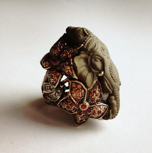 Anillo Ganesh de Runa Jewellry