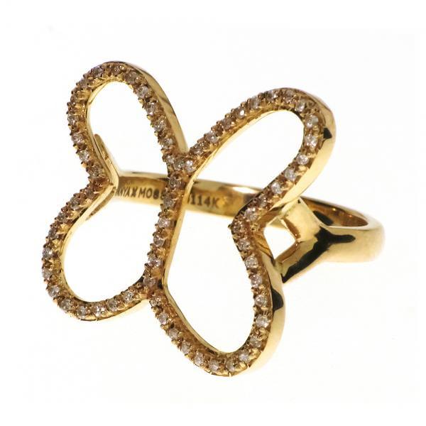 Anillo Mariposa Versalles en oro y diamantes de Tanya Moss