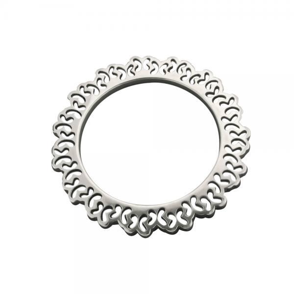 Brazalete rigido Borboletas en plata de Tanya Moss