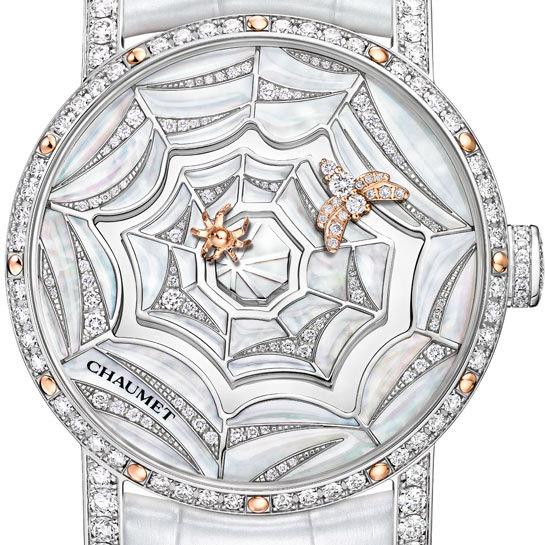 Esfera madreperla Reloj Attrape-moi...si tu m'aimes Calibre Exclusivo de Chaumet Enero 2013