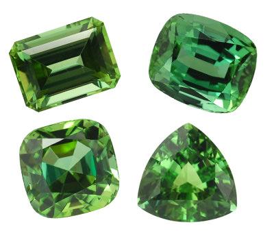Las gemas verdes
