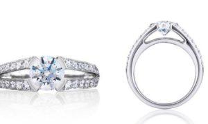 ¿Cuanto cuesta un anillo de compromiso con diamantes?