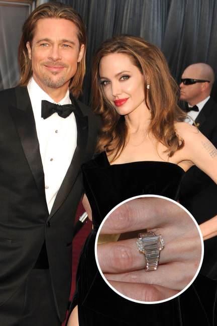 Anillo Angelina Jolie Brad Pitt