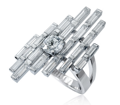Anillo Empire State de Mathon Joaillerie