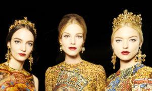 Las joyas de la Colección Otoño Invierno 2014 de Dolce & Gabbana…