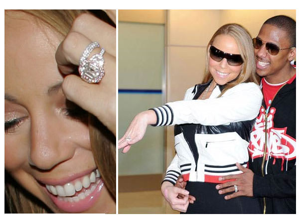 anillo pedida de Mariah Carey