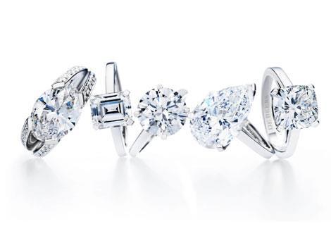 Anillos de Compromiso de la firma de alta joyería De Beers
