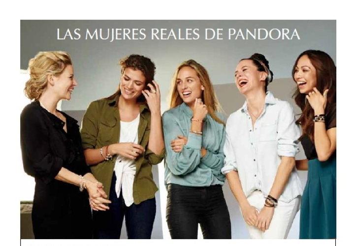 Campaña Las Mujeres Reales de Pandora