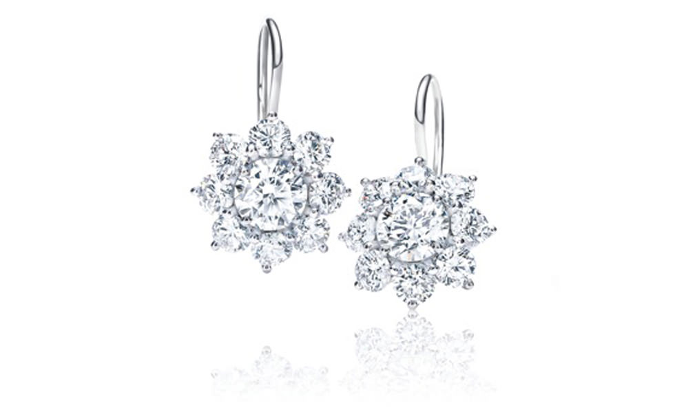 Pendientes Colgantes Sunflower de Harry Winston