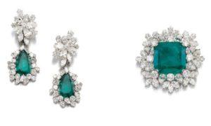 Las joyas de Gina Lollobrigida a subasta en Ginebra