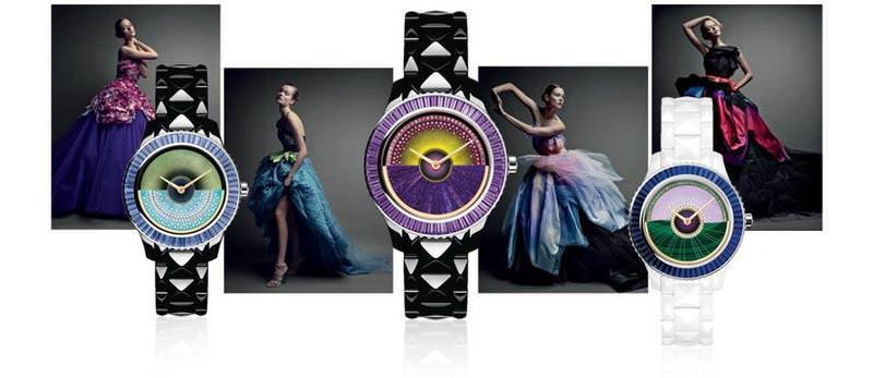 Dior VIII Grand Bal Haute Couture Nuevos Relojes 2013