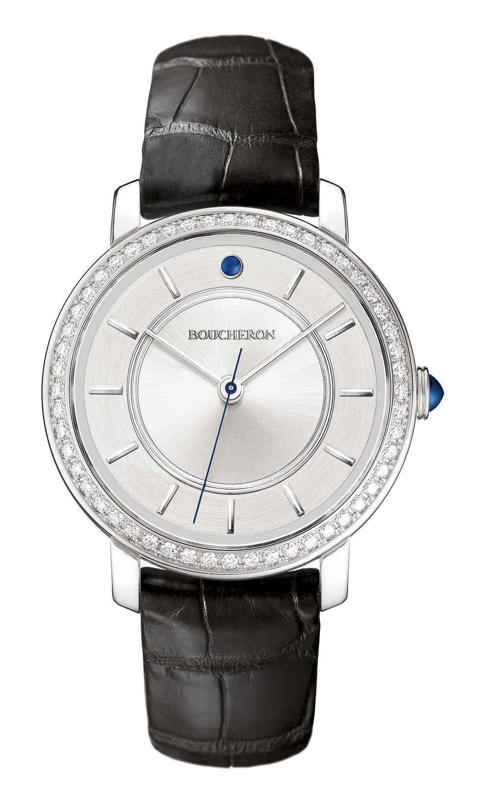 Reloj Epure Boucheron oro blanco y diamantes en 38mm