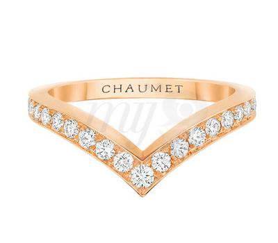 Alianza diadema Joséphine de Chaumet en oro y diamantes